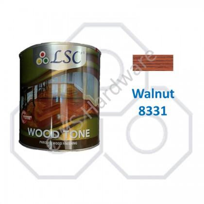 LSC Wood Tone Interior & Exterior Wood Paint Shellac / Syelek Kayu 1 Litre / Wood Shellac 1L
