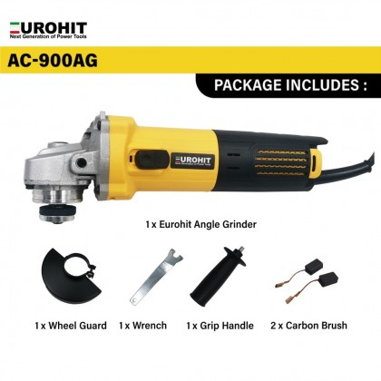 [ORIGINAL] EUROHIT AC-900AG Corded 900W ANGLE GRINDER