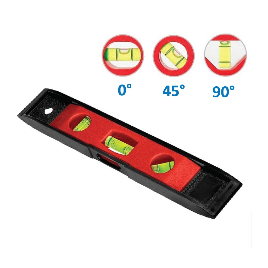 9 / 230mm Torpedo Level Angle with Magnet